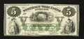 Obsoletes By State:Maryland, Salisbury, MD- Somerset and Worcester Savings Bank $5 Nov. 1, 1862. ...