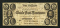 Obsoletes By State:Tennessee, Knoxville, TN- Bank of East Tennessee at Jonesboro Branch $10 Jan. 1, 1855. ...
