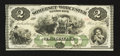 Obsoletes By State:Maryland, Salisbury, MD- Somerset and Worcester Savings Bank $2 Nov. 1, 1862. ...