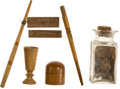 Political:Presidential Relics, Relics: Five Relics Related to American Presidents Jefferson, Jackson, and Grant, from the Collection of J. S. Reigart,...