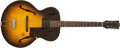 Musical Instruments:Electric Guitars, 1956 Gibson ES-125 Sunburst Hollow-Body Electric Guitar #V7743....