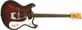 Musical Instruments:Electric Guitars, Late 1960s Mosrite Combo Dark Red Sunburst Semi-Hollow BodyElectric Guitar, #HO772....