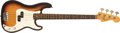 Musical Instruments:Bass Guitars, 1966 Fender Precision Sunburst Electric Bass Guitar, #144688....