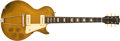 Musical Instruments:Electric Guitars, Circa 1952 Gibson Les Paul Gold Top Electric Guitar # N/A....
