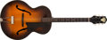 Musical Instruments:Acoustic Guitars, 1940's Gretsch Unknown Sunburst Acoustic Archtop Guitar #N/A. ...