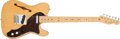 Musical Instruments:Electric Guitars, 1999 Fender Telecaster Custom Thinline Natural Electric Guitar#N9403041. ...