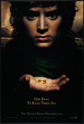 "Movie Posters:Fantasy, The Lord of the Rings: The Fellowship of the Ring (New Line, 2001).One Sheet (27"" X 40"") DS Advance. Fantasy.. ..."