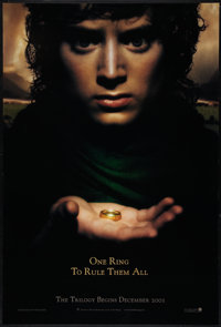 """The Lord of the Rings: The Fellowship of the Ring (New Line, 2001). One Sheet (27"""" X 40"""") DS Advance. Fantasy..."""
