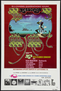 "Yessongs (Ellman Enterprises, 1975). One Sheet (27"" X 41""). Rock and Roll"