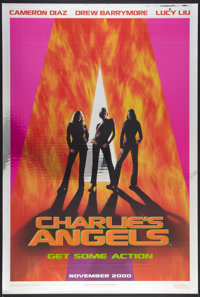 "Charlie's Angels & Other Lot (Columbia, 2000). Mylar One Sheet (27"" X 40"") SS Advance & One Sheet (27&..."