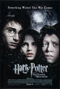 "Harry Potter and the Prisoner of Azkaban (Warner Brothers, 2004). One Sheet (27"" X 40"") DS Advance, Unrated St..."