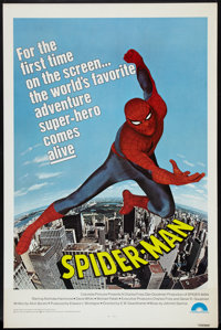 "Spider-Man (Columbia, 1977). One Sheet (27"" X 41""). Action"