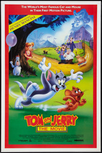 """Tom and Jerry: The Movie (Miramax, 1992). One Sheets (2) (27"""" X 41"""")Regular and Advance Style. Animated. ... (..."""