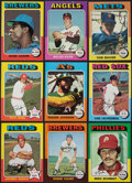 Baseball Cards:Sets, 1975 Topps Baseball High Grade Near Set (657/660). ...