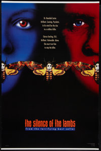"""The Silence of the Lambs (Orion, 1990). One Sheet (27"""" X 41"""") DS Advance Style B. Thriller"""