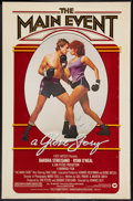 """Movie Posters:Sports, The Main Event (Warner Brothers, 1979). Autographed One Sheet (27"""" X 41""""). Sports.. ..."""