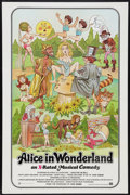 """Movie Posters:Adult, Alice in Wonderland (General National, 1976). One Sheet (27"""" X 41"""") X-Rated Version. Adult.. ..."""