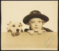"""Marion Davies as """"Peg"""" in Peg O' My Heart (MGM, 1933). Autographed Photo (8"""" X 10""""). Miscellaneous..."""