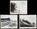 """Movie Posters:Documentary, Follow Me (Cinerama Releasing, 1969). Photos (3) (8"""" X 10""""). Surfing Documentary.. ... (Total: 3 Items)"""