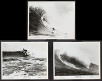 """Follow Me (Cinerama Releasing, 1969). Photos (3) (8"""" X 10""""). Surfing Documentary. ... (Total: 3 Items)"""