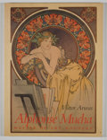 Books:First Editions, Victor Arwas. Alphonse Mucha. London: Academy Editions,[1985]. First trade edition. Publisher's wrappers. Very ...
