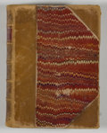Books:Fiction, Alfred Tennyson. The Poetical Works. Boston: Houghton, Osgood, 1879. Complete edition. Twelvemo. Contemporary half l...