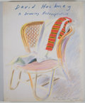 Books:First Editions, Ulrich Luckhardt and Paul Melia. David Hockney: A DrawingRetrospective. [San Francisco]: Chronicle Books, [1996]. F...