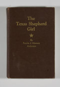 Books:Signed Editions, Fannie J. Mooney Anderson. INSCRIBED. The Texas Shepherd Girl. Dallas: Story Book Press, [1942]. First edition. In...
