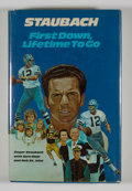 Books:Signed Editions, Roger Staubach. INSCRIBED. First Down, Lifetime To Go. Waco: Word Books, [1974]. First edition. Inscribed. O...