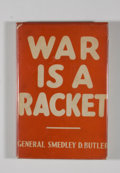 Books:First Editions, Smedley D. Butler. War is a Racket....