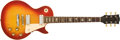 Musical Instruments:Electric Guitars, 1973 Gibson Les Paul Deluxe Cherry Sunburst Electric Guitar # 171179....