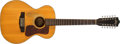 Musical Instruments:Acoustic Guitars, 1970 Guild F-12NT Natural 12-String Acoustic Guitar # OA752....