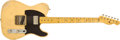 Musical Instruments:Electric Guitars, 2010 Nashguitars TK-54 Blonde Electric Guitar #SND65....