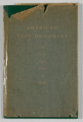 Books:First Editions, [American Institute of Graphic Arts]. American Type Designers andtheir type faces on exhibit....