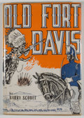 Books:First Editions, Barry Scobee. Old Fort Davis....