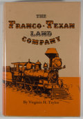 Books:First Editions, Virginia H. Taylor. The Franco-Texan Land Company....