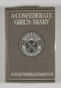 Books:First Editions, Sarah Morgan Dawson. A Confederate Girl's Diary....