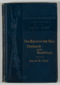 Books:First Editions, Jacob D. Cox. The March to the Sea. Franklin andNashville....