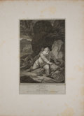 Antiques:Posters & Prints, Four Engraved Plates from Boydell's Shakespeare. Cheapside:J. & J. Boydell, ca. 1790's. General mild toning wit... (Total:4 Items)