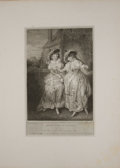 Antiques:Posters & Prints, Three Engraved Plates from Boydell's Shakespeare. Cheapside: J. & J. Boydell, ca. 1790's. General mild toning wi... (Total: 3 Items)