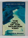 Books:First Editions, Howard H. Snyder. The Hall of the Mountain King....