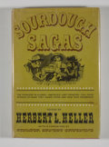 Books:First Editions, [Herbert L. Heller, editor]. Sourdough Sagas. The Journals,Memoirs, Tales and Recollections of the Earliest Alask...