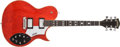 Musical Instruments:Electric Guitars, Mid-1970's Gretsch 7680 Orange Electric, #97112. ...