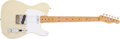 Musical Instruments:Electric Guitars, 1957 Fender Telecaster Blonde Electric, #19599. ...