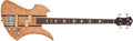 Musical Instruments:Bass Guitars, 1995 BC RICH Mockingbird Natural Bass Guitar #1/95...