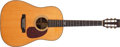 Musical Instruments:Acoustic Guitars, 1995 Martin HD-28SO Natural Acoustic Guitar, #555025. ...