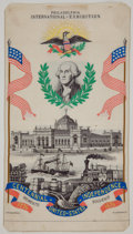 Political:Ribbons & Badges, George Washington: Beautiful Centennial Ribbon....