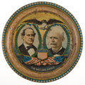 Political:3D & Other Display (1896-present), William Jennings Bryan: Jugate Beer Tray....
