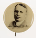 Political:Pinback Buttons (1896-present), James M. Cox: Real Photo Campaign Pin....
