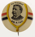 Political:Pinback Buttons (1896-present), William Howard Taft: Lucky Wishbone Button....